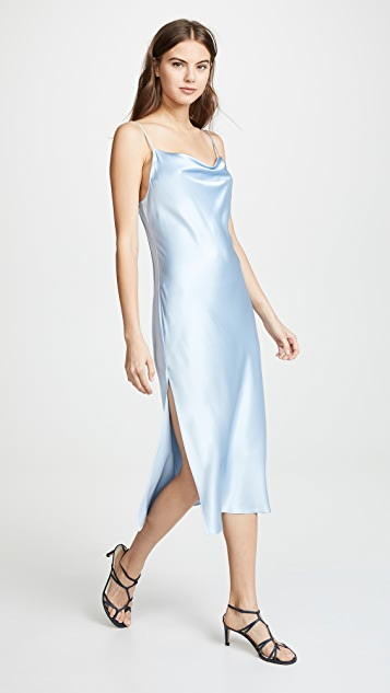 b25e65cb89ec Fleur du Mal Cowl Neck Slip Dress | SHOPBOP