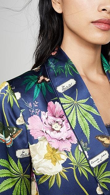 Fleur du Mal Smoking Jacket