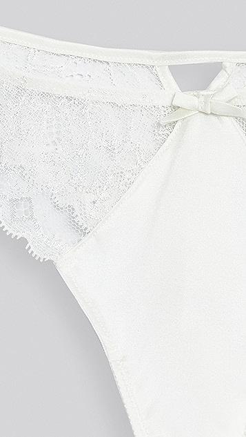 Fleur du Mal 栀子花蕾丝丁字裤