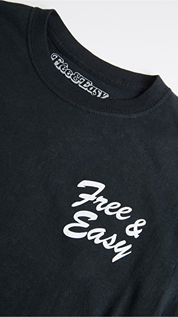 Free & Easy One Earth T 恤