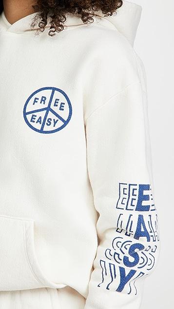 Free & Easy Peace Heavy Fleece Hoodie