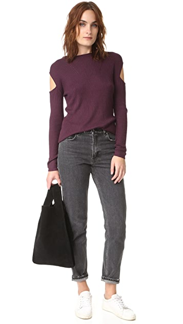 Feel The Piece Hayley Ribbed Sweater