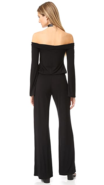 Feel The Piece Azusa Off Shoulder Jumpsuit