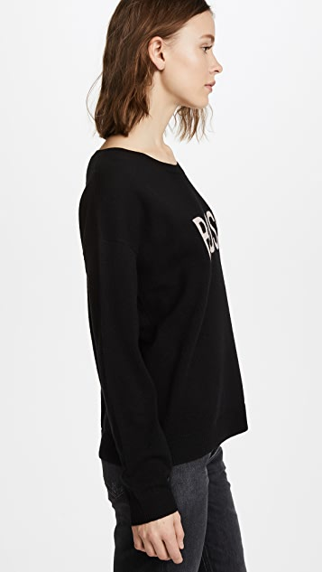 Feel The Piece Bossy Sweater
