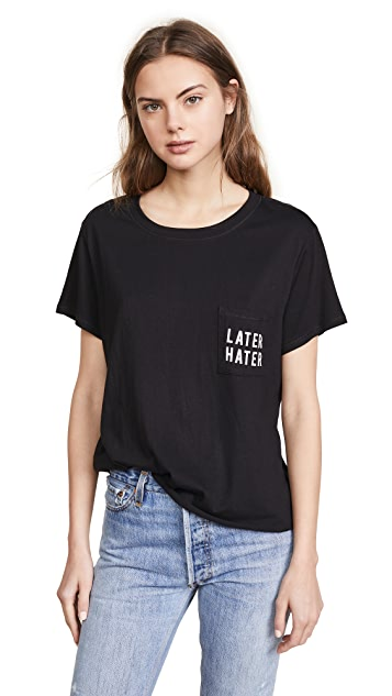 Feel The Piece Gabels Later Hater Tee