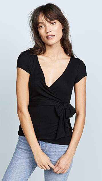 Feel The Piece Bridgett Top - Black
