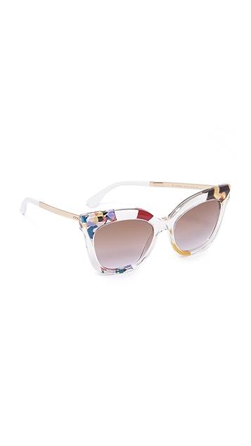 Fendi Jungle Printed Sunglasses