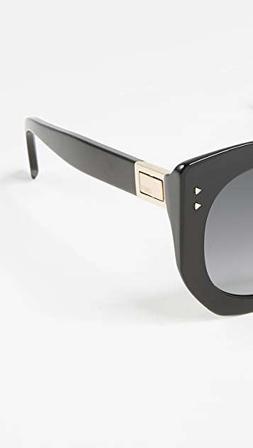 Fendi Riveted Sunglasses