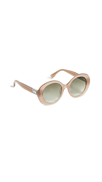 Fendi Oval Frame Sunglasses
