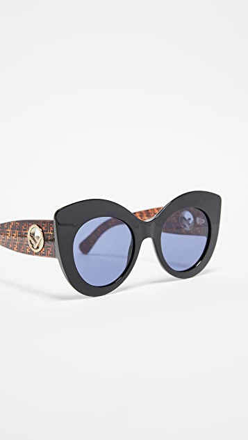 d1f7bb662d Fendi Cat Eye Sunglasses