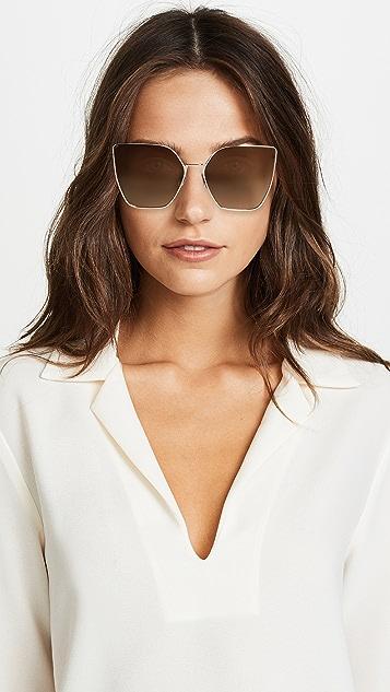 Fendi Oversized Cat Eye Sunglasses