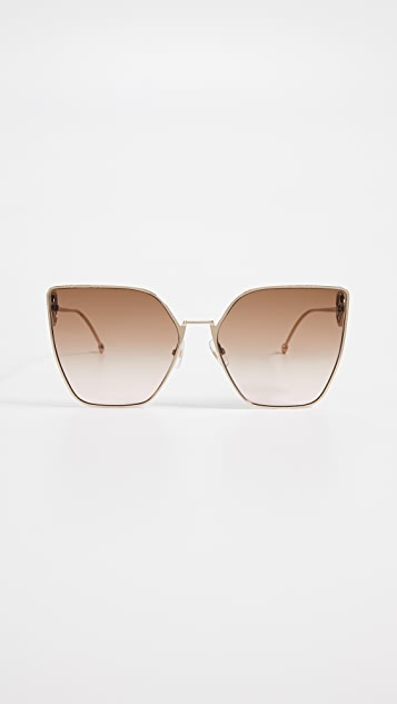 Fendi Oversized Cat Eye Sunglasses