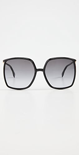 Fendi - Oversized Glam Sunglasses