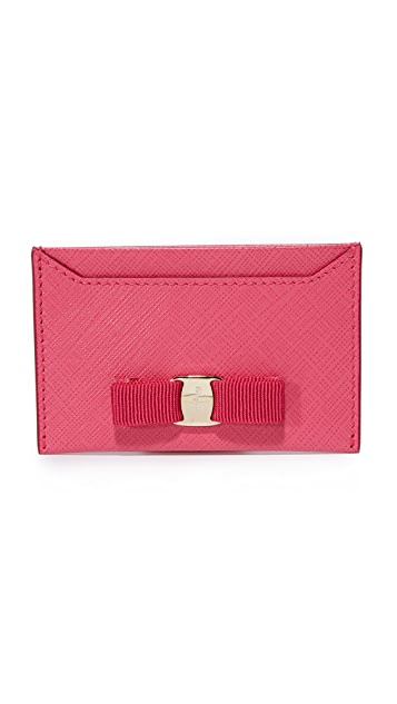 Salvatore Ferragamo Miss Vara Card Case