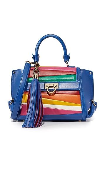 Salvatore Ferragamo. Sara Battaglia for Ferragamo Sofia Top Handle Bag 5f982ba9dd83f