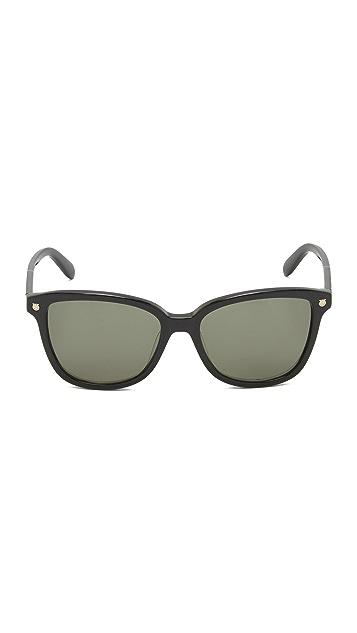 Salvatore Ferragamo Square Sunglasses