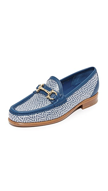 Salvatore Ferragamo Mason Twist Loafers