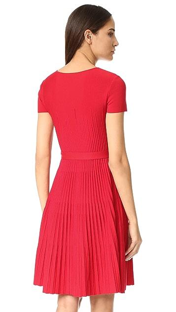 Salvatore Ferragamo Short Sleeve Dress