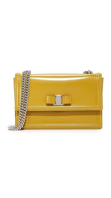 27c3ab5b6fb Salvatore Ferragamo Ginny Flap Shoulder Bag   SHOPBOP