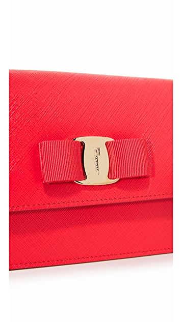 Salvatore Ferragamo Miss Vara Bow Cross Body Bag