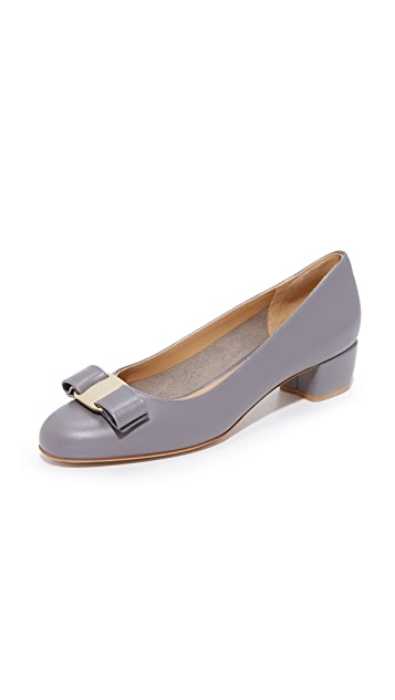 Vara pumps - Grey Salvatore Ferragamo o0rDOXxm