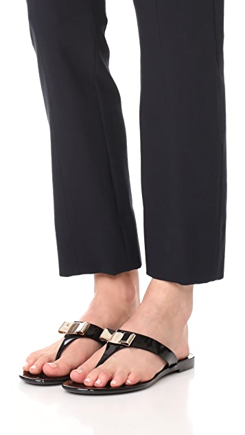 Salvatore Ferragamo Farelia Thong Sandals