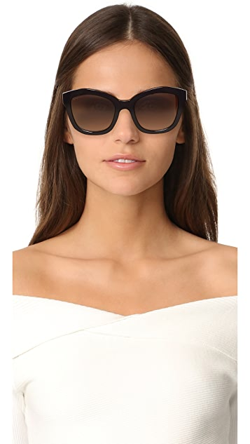 Salvatore Ferragamo Square Sunglasses