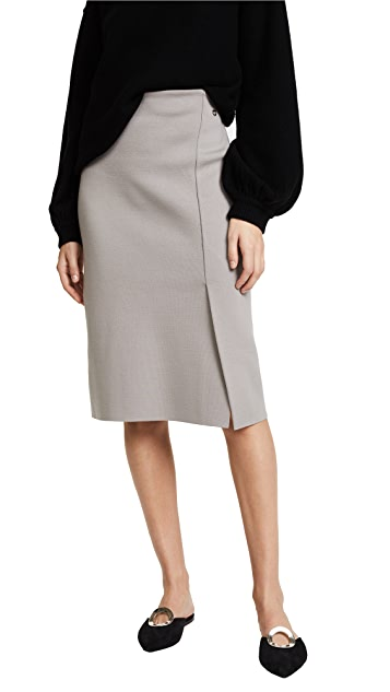 Salvatore Ferragamo Knit Pencil Skirt