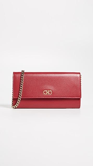 Salvatore Ferragamo Gancini Mini Crossbody Bag