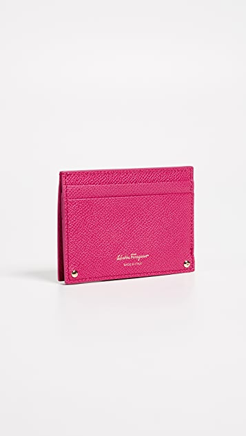 Salvatore Ferragamo Gancini Card Case