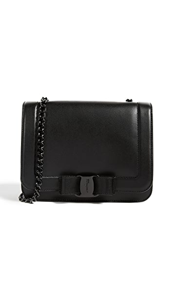Salvatore Ferragamo Vara RW Small Cross Body Bag