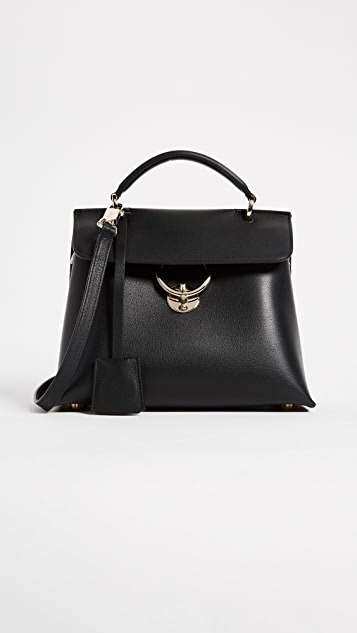 Salvatore Ferragamo Jet Set Small Satchel