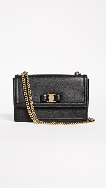 eb879d1dec Salvatore Ferragamo Ginny Shoulder Bag