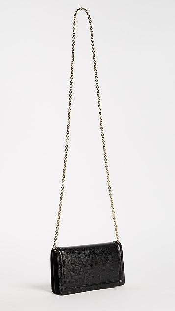 Salvatore Ferragamo Vara Wallet on a Chain