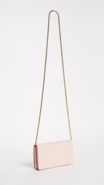Salvatore Ferragamo Vara Wallet on a Chain