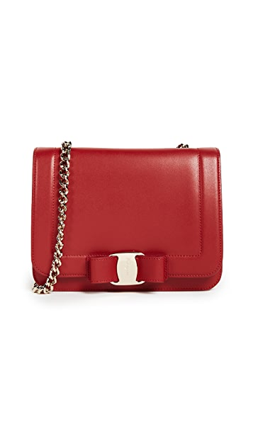 Salvatore Ferragamo Vara Small Cross Body Bag
