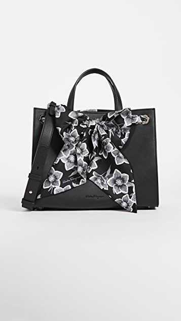 Salvatore Ferragamo Foulard Medium Tote