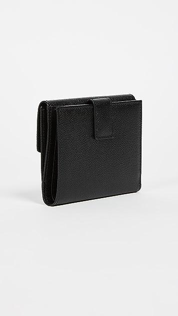 Salvatore Ferragamo Gancino Clip Wallet