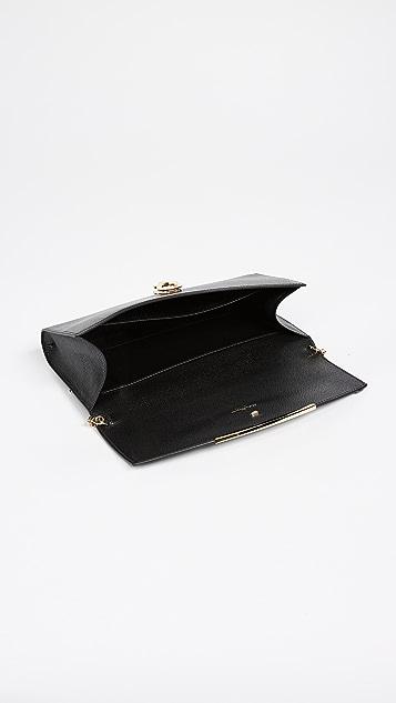 Salvatore Ferragamo Миниатюрная сумка на ремне Gancino Clip
