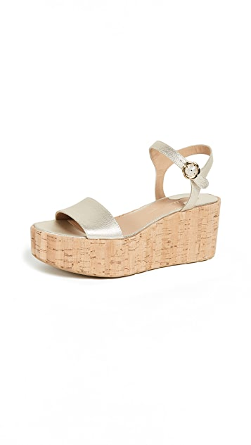Salvatore Ferragamo Tropea Wedge Sandals