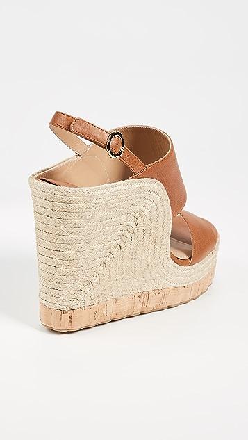 Salvatore Ferragamo Maratea Wedge Sandals