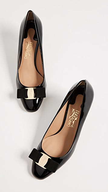 Salvatore Ferragamo Erice 70mm Pumps