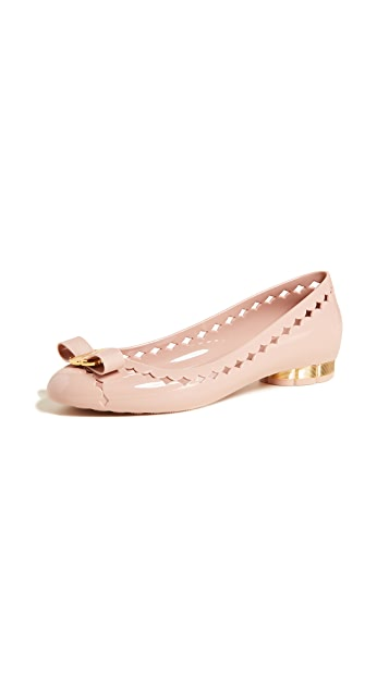 Salvatore Ferragamo Jelly Flats