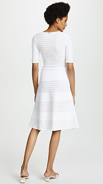Salvatore Ferragamo V Neck Dress
