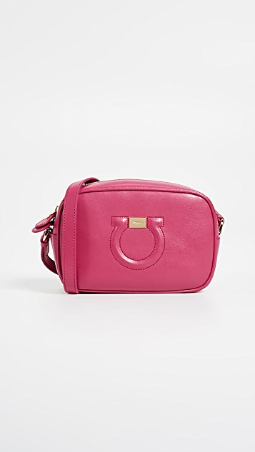 Salvatore Ferragamo Gancio City Camera Bag - Begonia