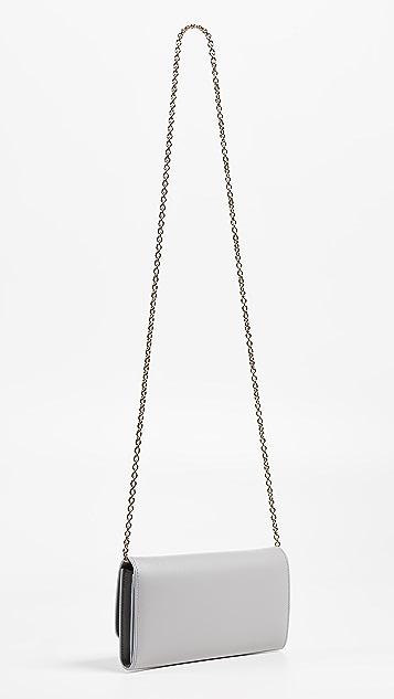 Salvatore Ferragamo Gancio City Wallet on a Chain