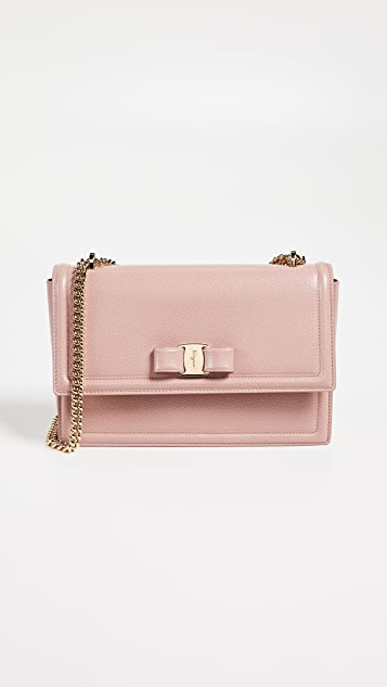 a9d58bcde3c4 Salvatore Ferragamo Ginny Cross Body Bag