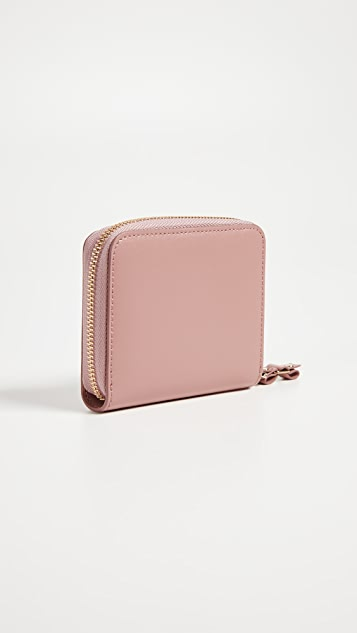 Salvatore Ferragamo Vara Rainbow Zip French Wallet