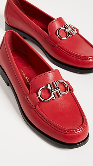 Salvatore Ferragamo Rolo Loafers