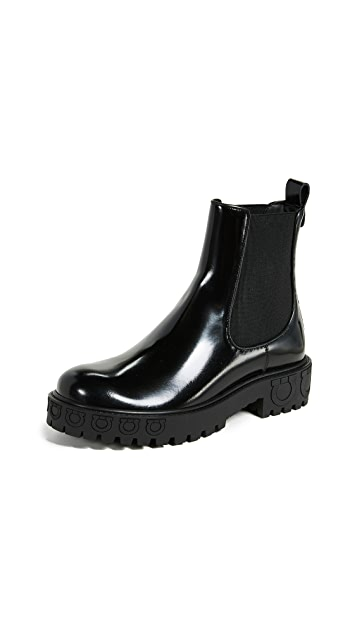 Salvatore Ferragamo Varsi Boots